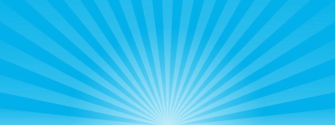 Blue Sun Ray Background Vector Eps10 - Stockowe grafiki wektorowe i więcej obrazów Abstrakcja