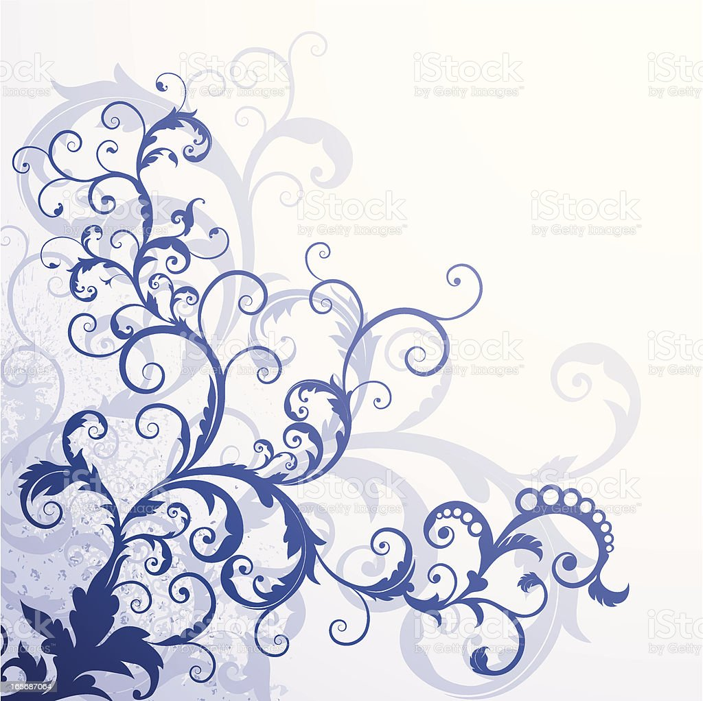 Blue Swirls royalty-free blue swirls stock vector art & more images of angle