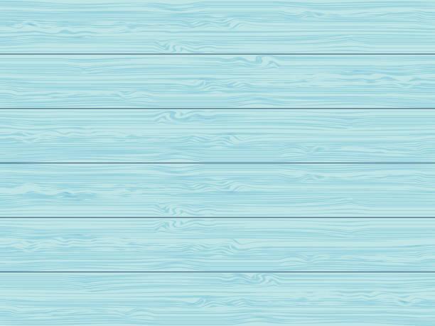 illustrations, cliparts, dessins animés et icônes de bleu au-dessus d'une table - fond bois