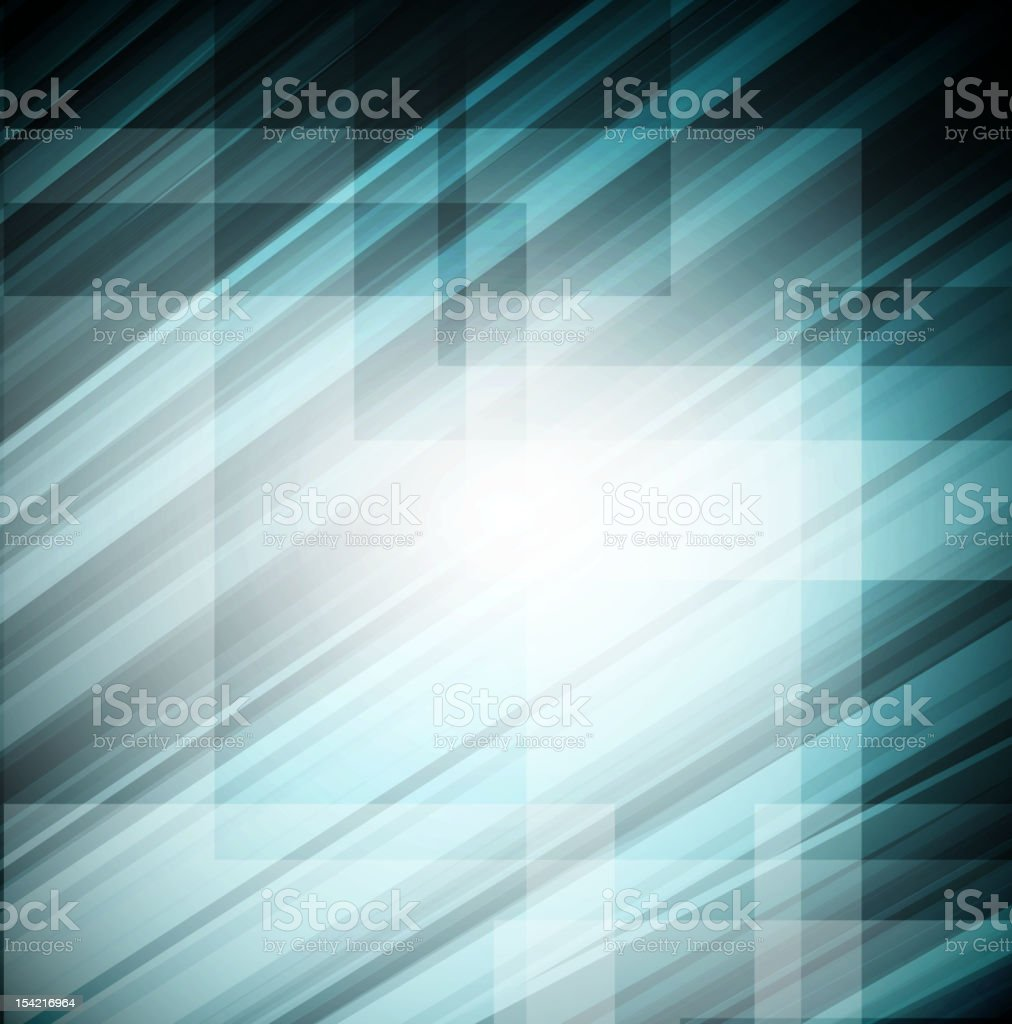 Blue technology lines background royalty-free stock vector art