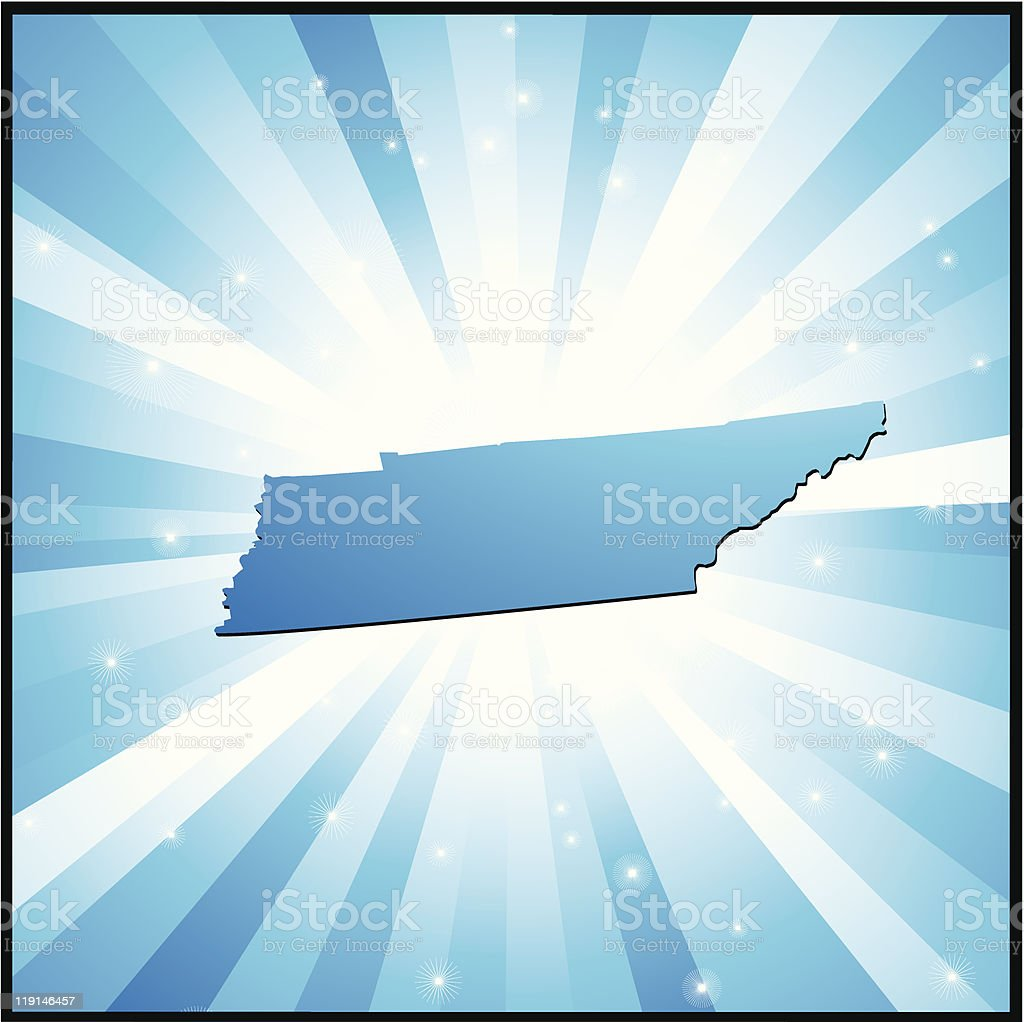 Blue Tennessee royalty-free blue tennessee stock vector art & more images of backgrounds