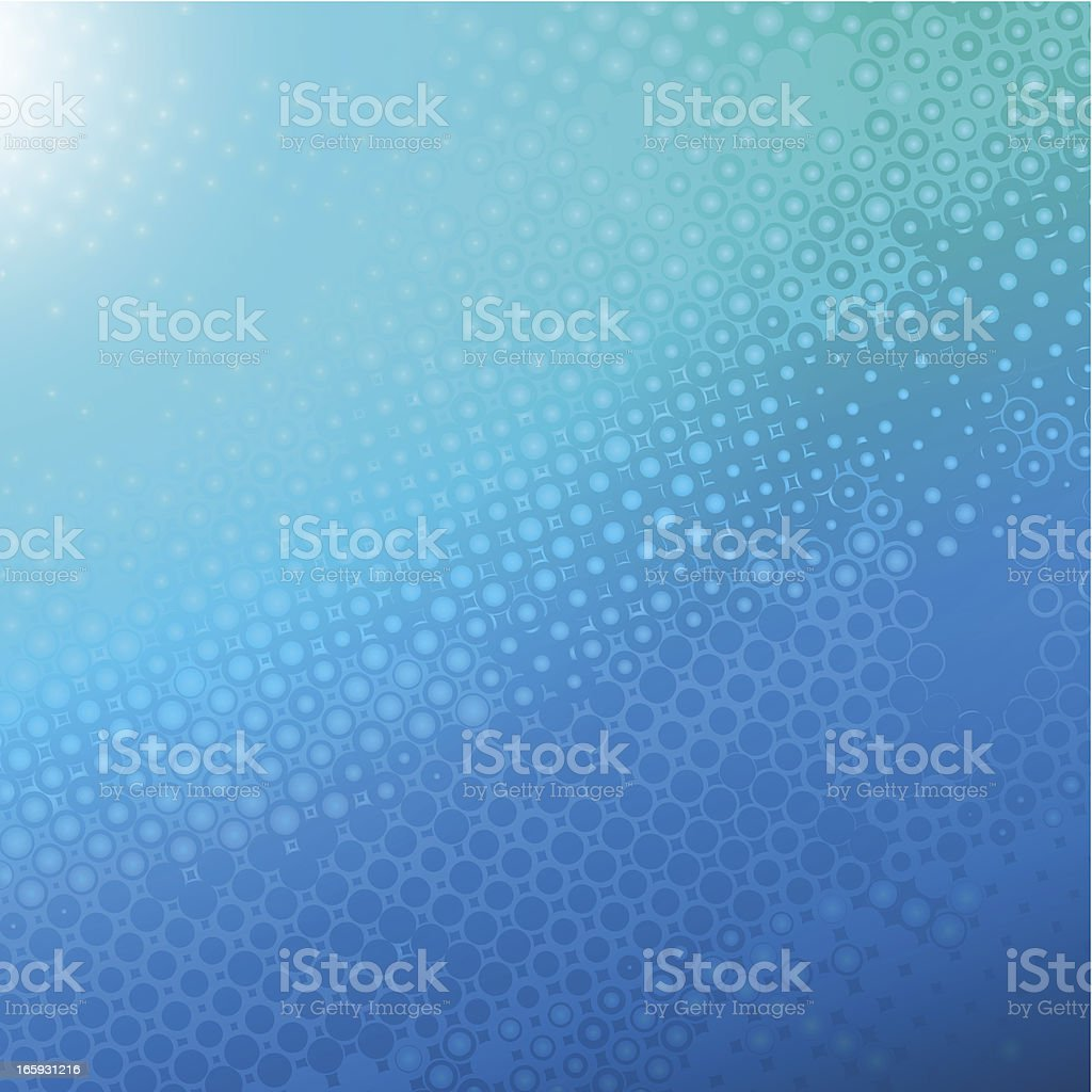 Blue textured background vector art illustration