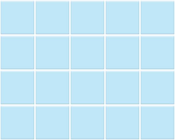 blue tile mock up white tile mock up bathroom backgrounds stock illustrations