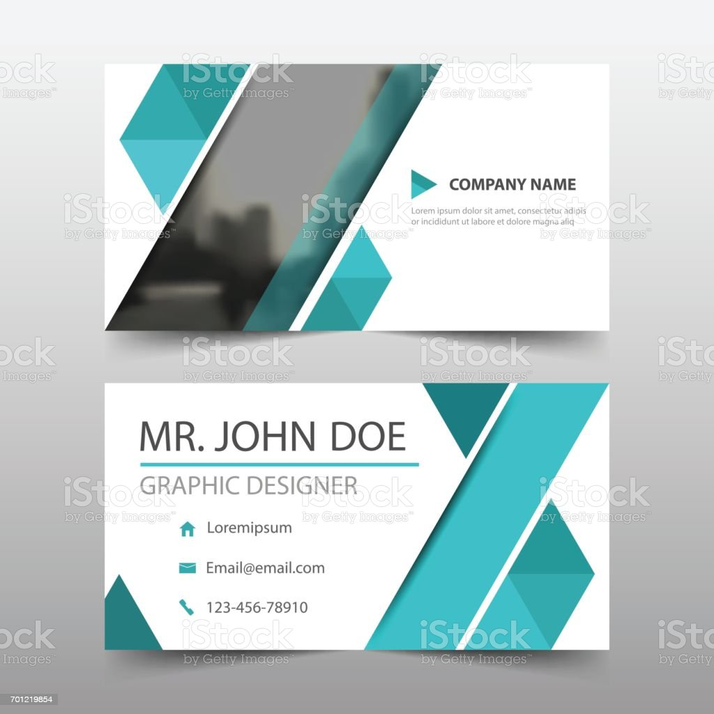 Blue triangle corporate business card name card template horizontal blue triangle corporate business card name card template horizontal simple royalty free blue triangle corporate fbccfo Choice Image