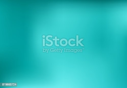 Blue turquoise blurred abstract background design graphic, vector illustration