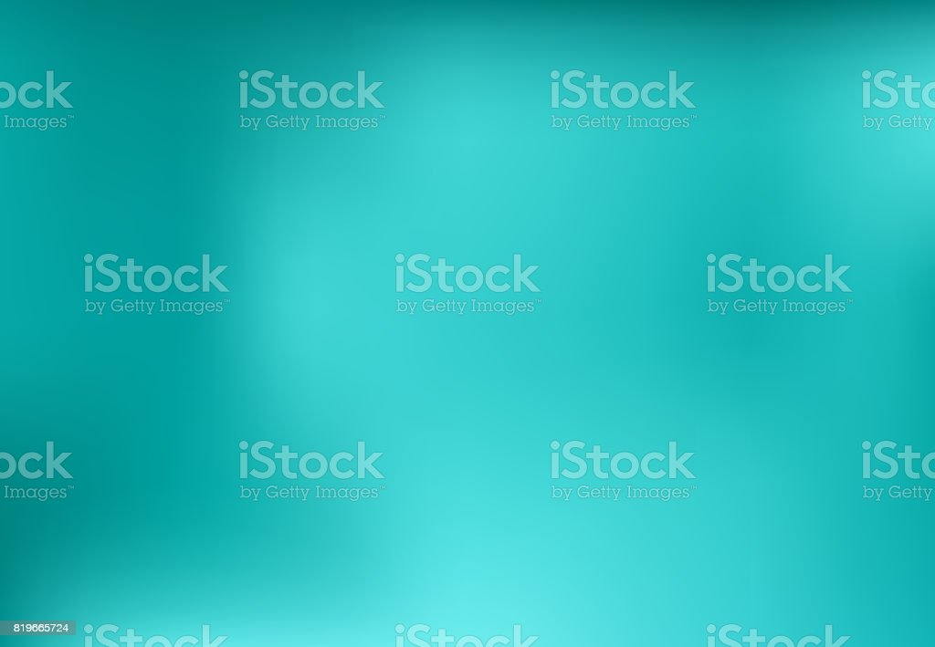Blue turquoise blurred abstract background design graphic, vector vector art illustration