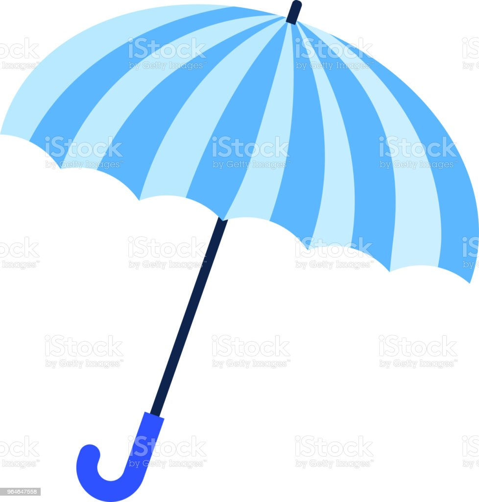 Blue umbrella illustration royalty-free blue umbrella illustration stock vector art & more images of art product
