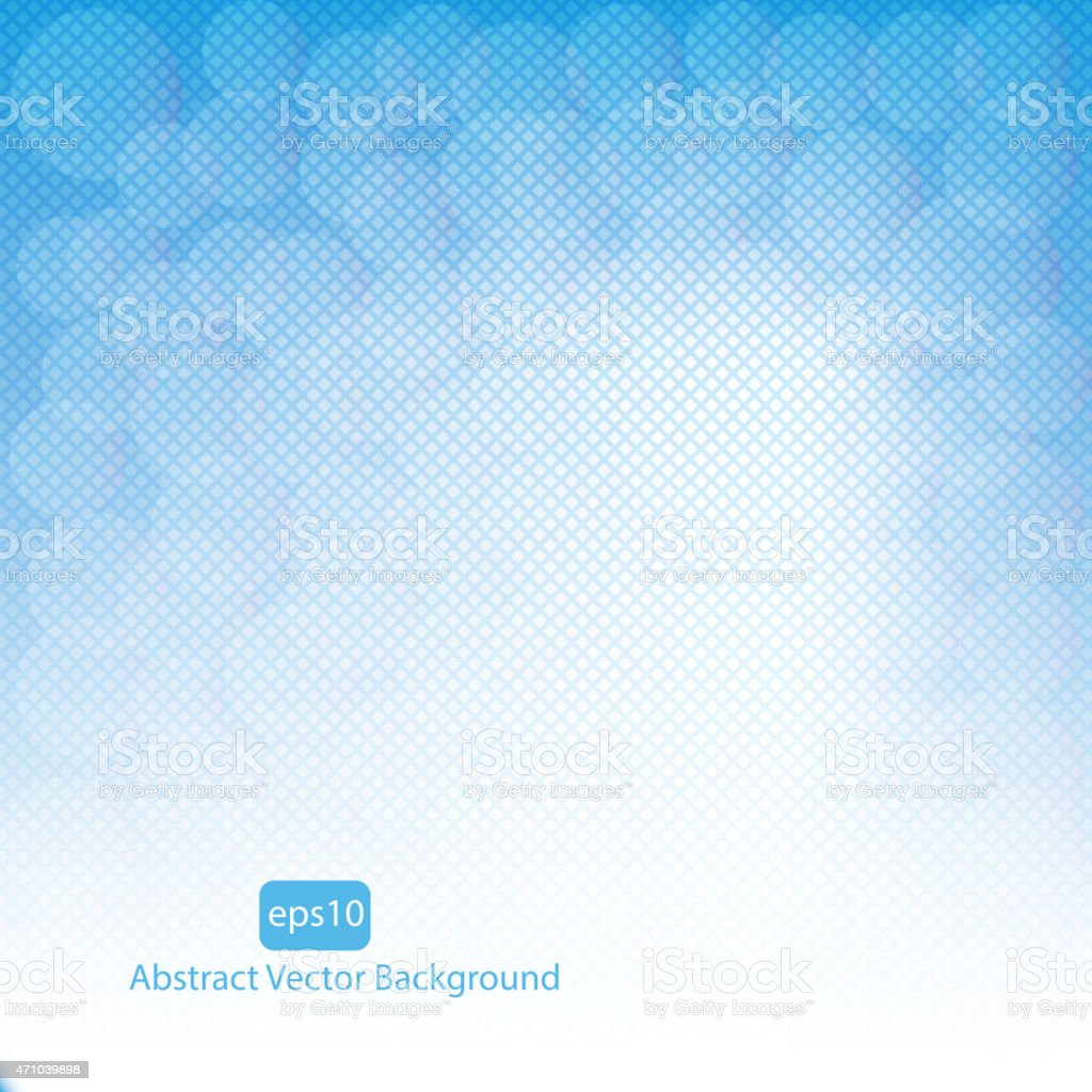 Blue vector abstract background vector art illustration
