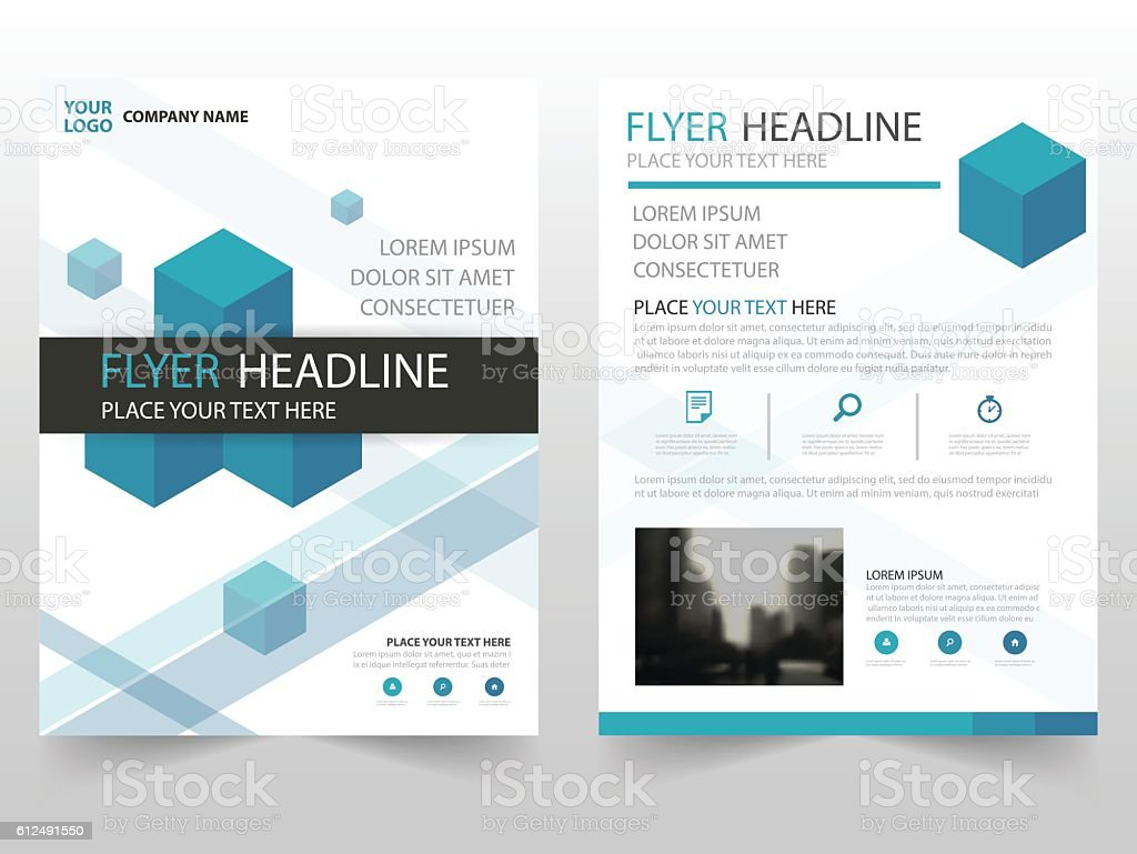 Blue Vector Annual Report Leaflet Brochure Flyer Template Design, Book  Royalty Free Blue Vector  Annual Report Template Design