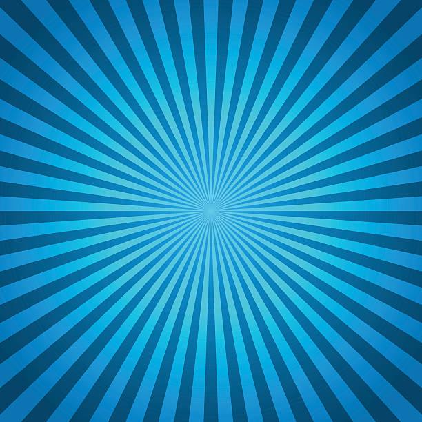 青いベクトルの背景のラジアルライン。コミックブック - 漫画の子供たち点のイラスト素材/クリップアート素材/マンガ素材/アイコン素材
