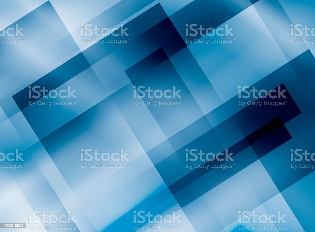 blue vector background with rectangles vector art illustration