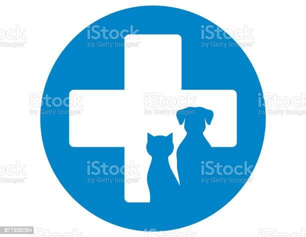 Blue veterinary icon with pets vector id871935264?b=1&k=6&m=871935264&s=612x612&h= tuw1fmowatguifenrkrn peazymt0r 7gvvvdiwo44=