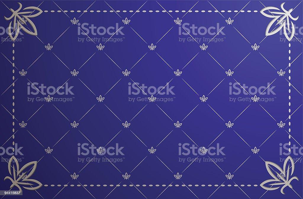 Blue vintage frame royalty-free blue vintage frame stock vector art & more images of abstract