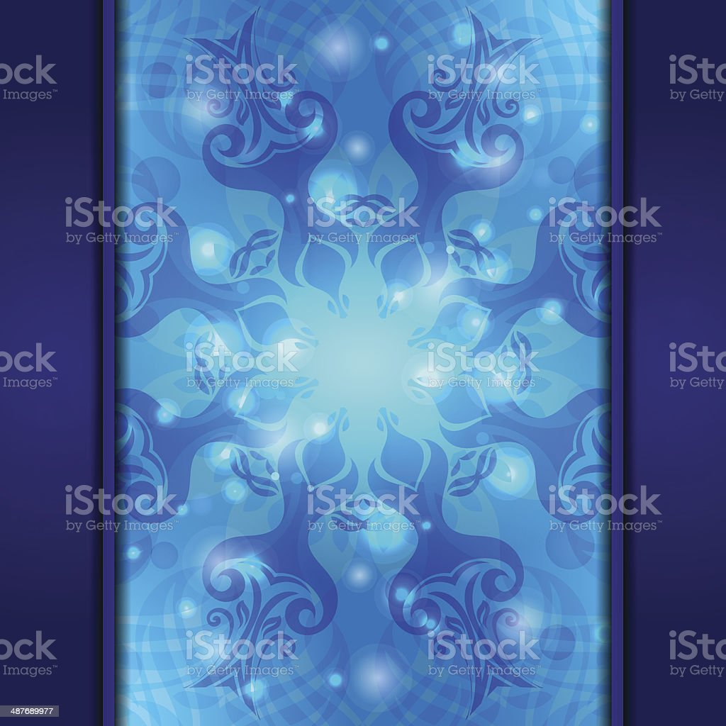 Blue vintage vector abstract background royalty-free blue vintage vector abstract background stock vector art & more images of abstract