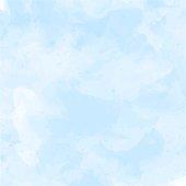 Blue, violet watercolor background vector illustration