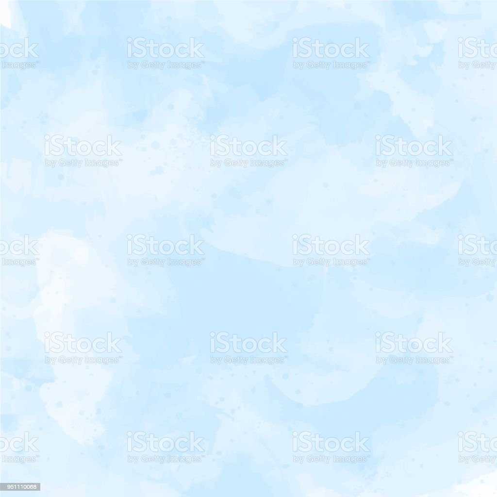 Blue, violet watercolor background vector – artystyczna grafika wektorowa