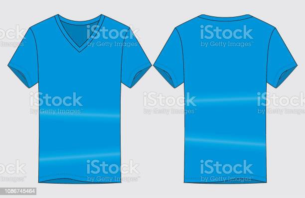 V Neck T Shirt Free Vector Art 73 Free Downloads