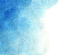 blue watercolor gradient wash background