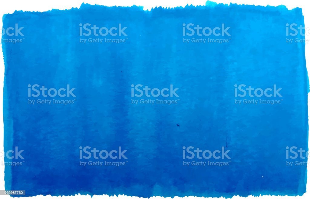 blue watercolor wash - Royalty-free Abstract stock vector