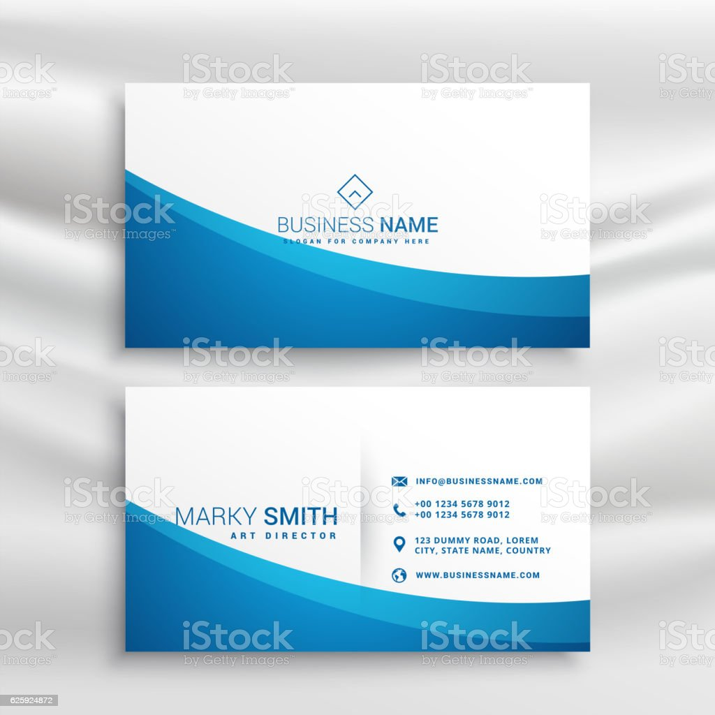 Blue wave business card template stock vector art more images of blue wave business card template royalty free blue wave business card template stock vector art reheart Image collections