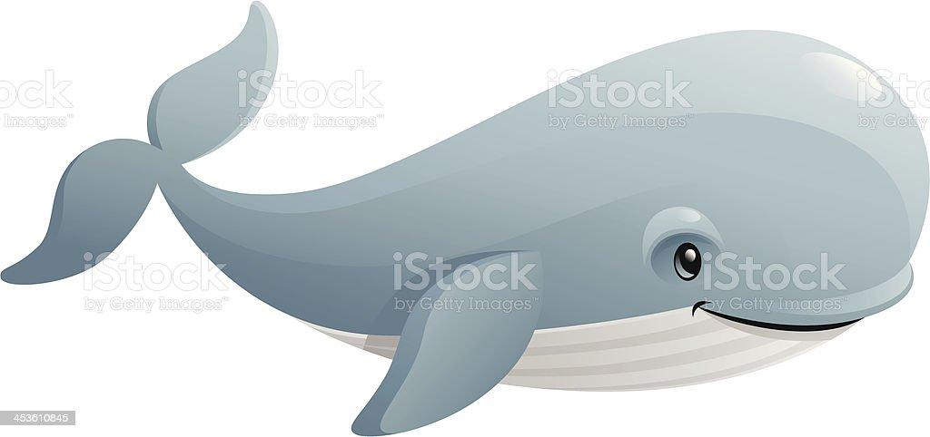 Blue Whale – Vektorgrafik