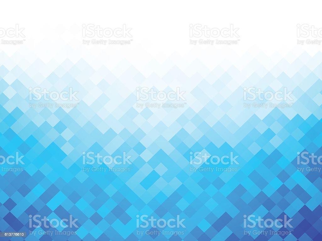 Abstrato azul e branco fundo - ilustração de arte vetorial