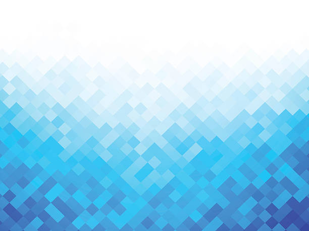 blue white abstract background - tile pattern stock illustrations, clip art, cartoons, & icons