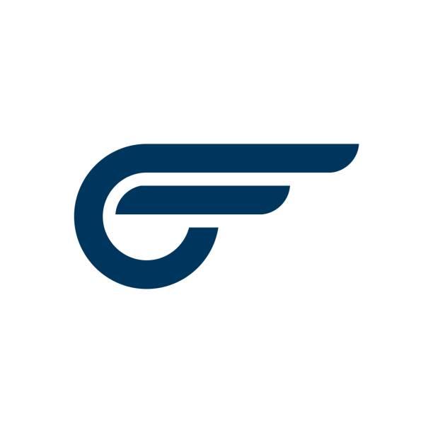 Blue Wing Automotive Logo Template Illustration Design. Vector EPS 10. Blue Wing Automotive Logo Template Illustration Design. Vector EPS 10. aviation and environment summit stock illustrations