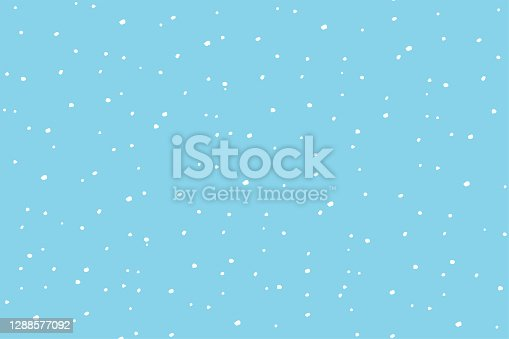 istock Blue winter background coarse snow 1288577092