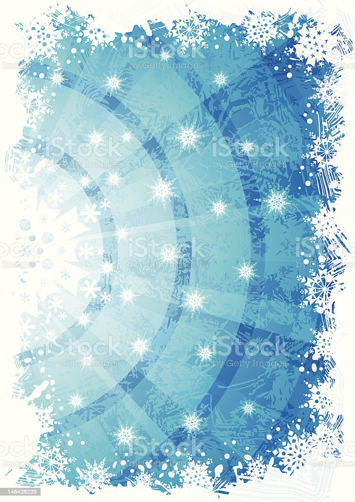 Blue winter background royalty-free blue winter background stock vector art & more images of abstract