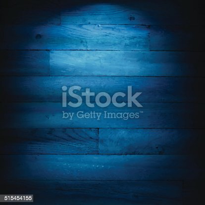 istock Blue Wooden Background 515454155