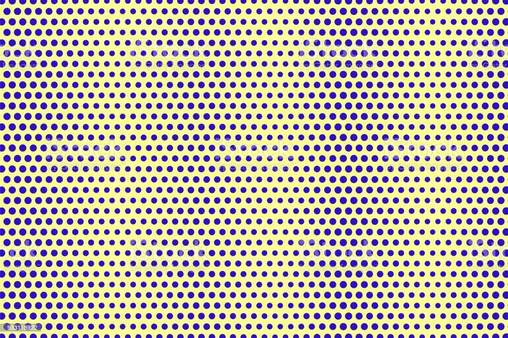 Ilustración de Azul Amarillo Punteado Trama De Semitonos Diagonal De ...