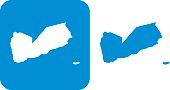 Blue Yemen Icons