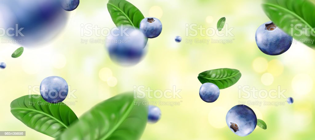 Blueberries and splashing yogurt royalty-free blueberries and splashing yogurt stock vector art & more images of blueberry