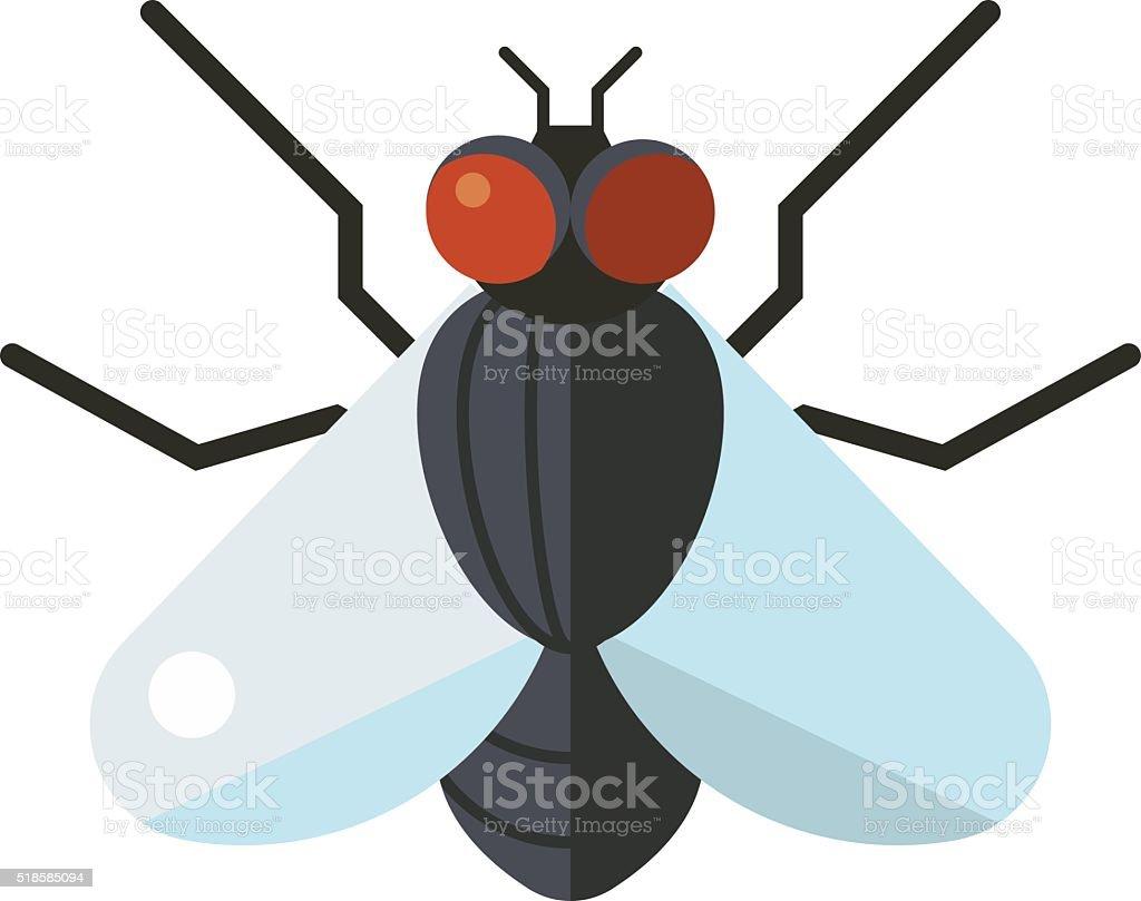 Bluebottle fliegen Insekten calliphora vomitoria Fehler Tier Natur Makro - Lizenzfrei Auge Vektorgrafik