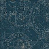 Blueprint. Architectural plan.