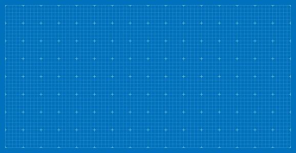 Blueprint architecture background. Measurement paper blank.