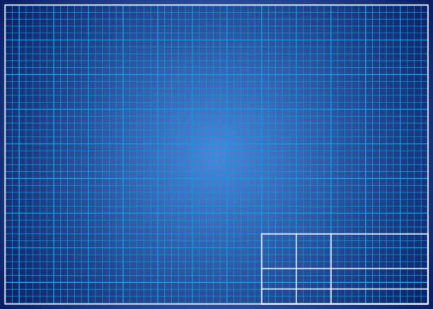 Royalty free blueprint grid paper clip art vector images blueprint background technical design paper vector art illustration malvernweather Gallery