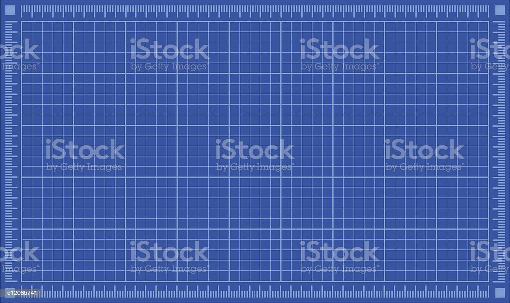 Blueprint background. Vector illustration. vector art illustration