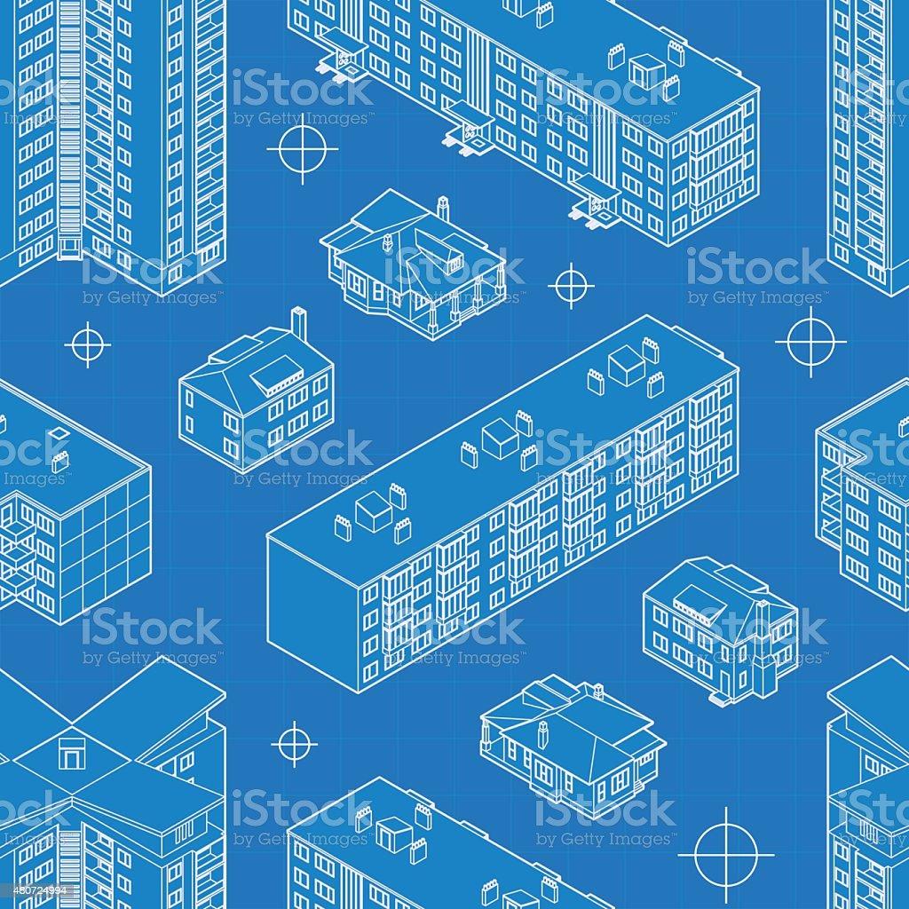 Blueprint dwelling buildings seamless pattern stock vector art blueprint dwelling buildings seamless pattern royalty free blueprint dwelling buildings seamless pattern stock vector art malvernweather Choice Image