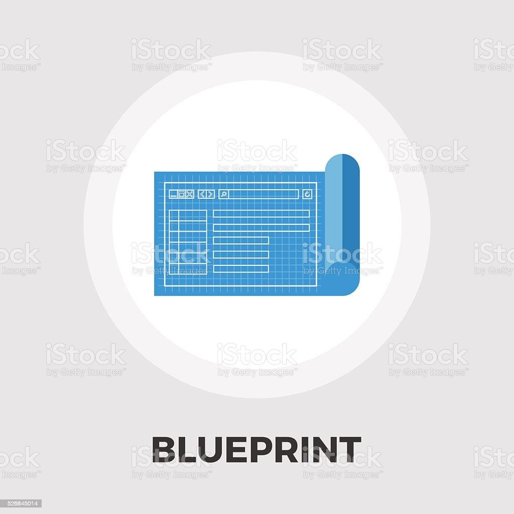 Blueprint flat icon stock vector art more images of architect blueprint flat icon royalty free blueprint flat icon stock vector art amp more images malvernweather Images