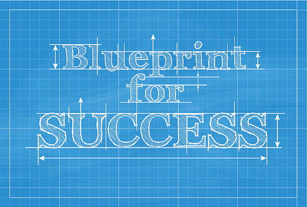 Royalty free blueprint for success clip art vector images blueprint for success vector art illustration malvernweather Image collections