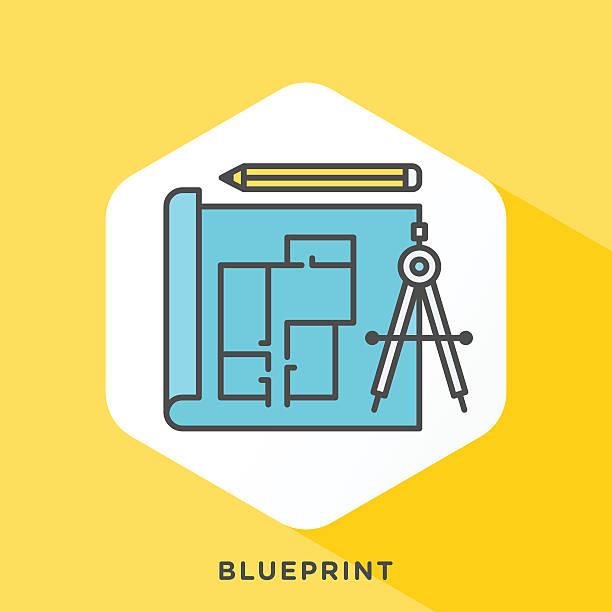 ilustraciones, imágenes clip art, dibujos animados e iconos de stock de bosquejo icono - arquitecto