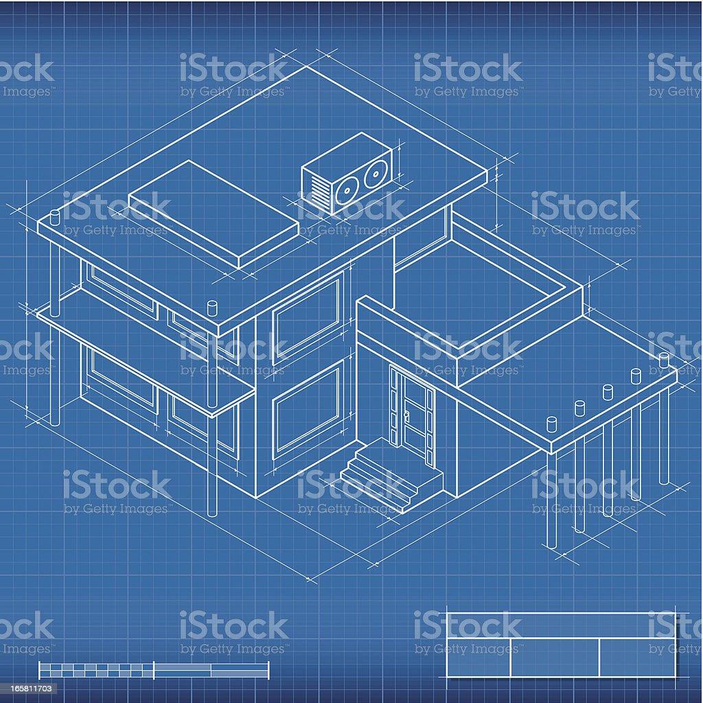 Blueprint isometric house stock vector art more images of blueprint isometric house royalty free blueprint isometric house stock vector art amp more malvernweather Choice Image
