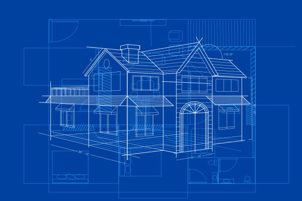 Royalty free blueprint clip art vector images for How to build a blueprint