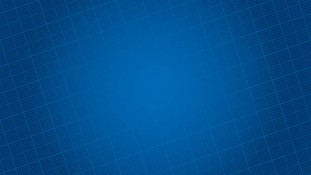Blueprint paper HD background. Blueprint paper background. Vector pattern with copy space for business presentation or web design. business backgrounds stock illustrations