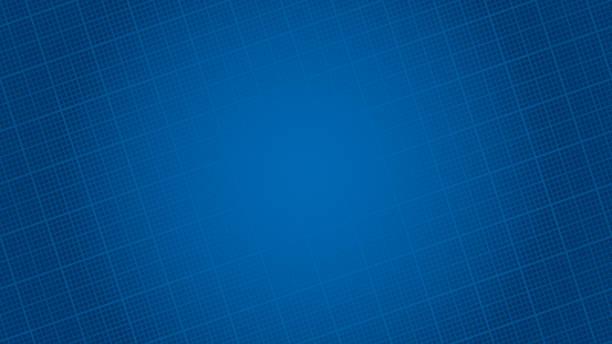 stockillustraties, clipart, cartoons en iconen met blauwdruk papier hd achtergrond. - blauwdruk