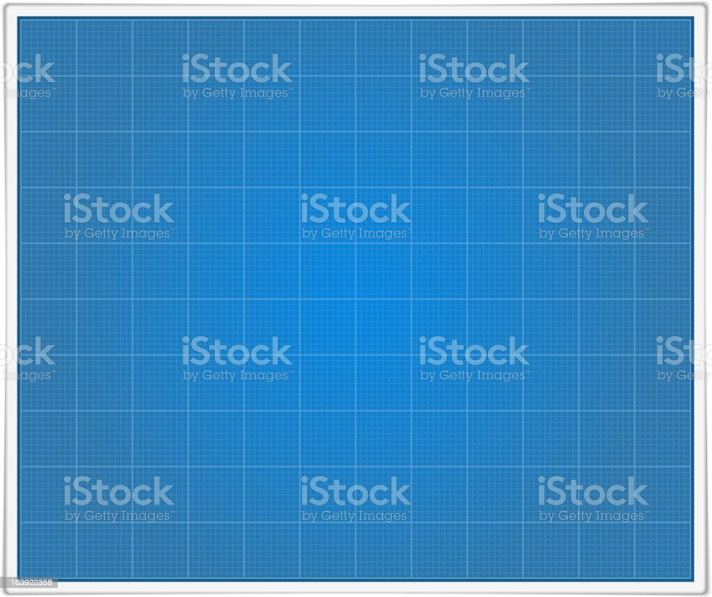 Blueprint Paper royalty-free stock vector art