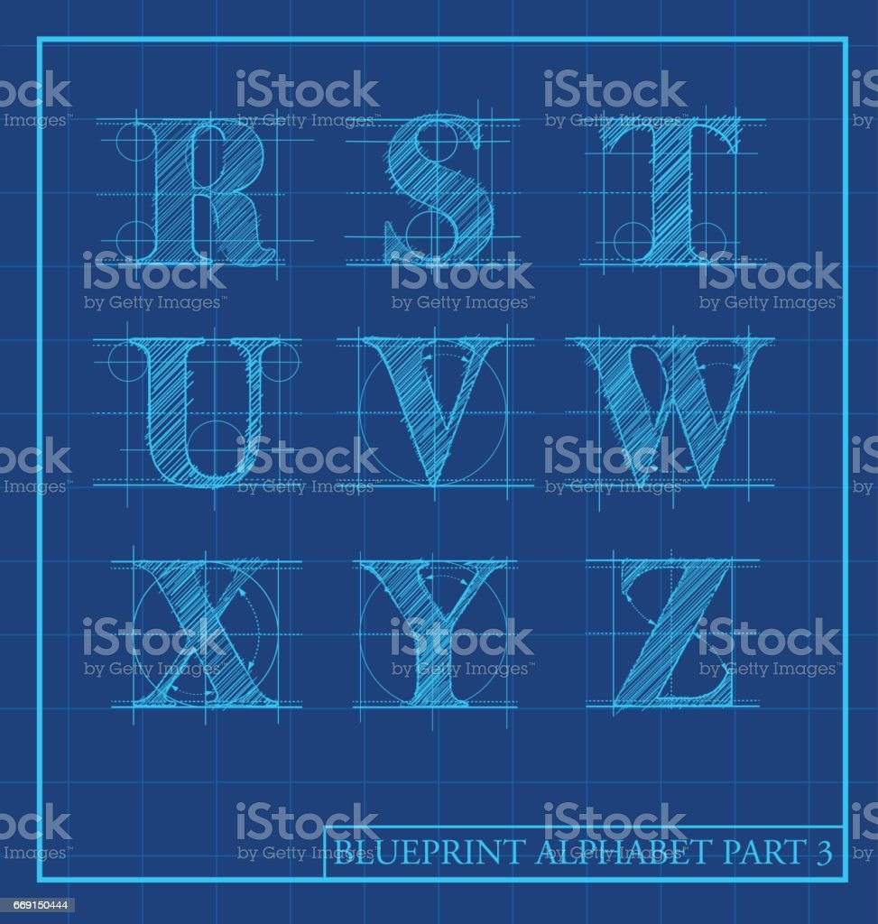 Blueprint style letters font alphabetvector illustration stock blueprint style letters font alphabetctor illustration royalty free blueprint style letters font alphabetvector malvernweather Image collections