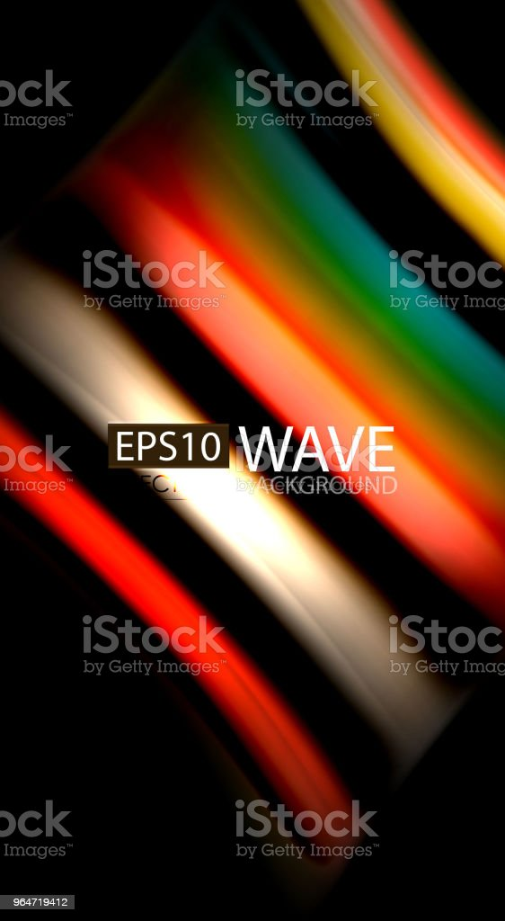 Blur color wave lines abstract background royalty-free blur color wave lines abstract background stock vector art & more images of abstract